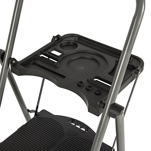 Best Choice Products Shade 3 Step Ladder Platform