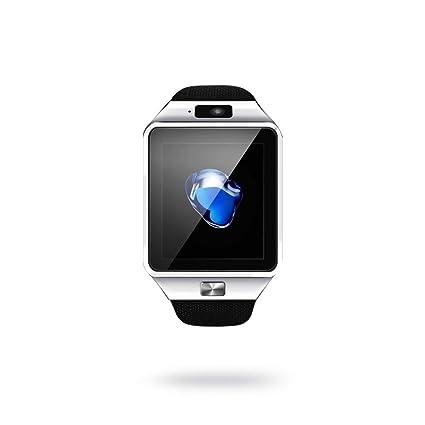 Mercantil Express Reloj Inteligente Deportivo con Camara para l Phone y Android Digital De Mujer Y Hombre Unisex Accesorios para Celulares