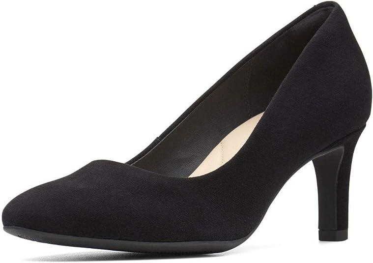 TALLA 38 EU. Clarks Calla Rose, Zapatos de Tacón para Mujer