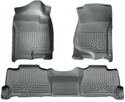 (Husky Liners 98252 WeatherBeater Grey Front and 2nd Seat Floor Liner by Husky Liners)