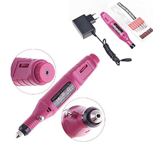 Pen Shape Pédicure électrique de l'ongle Drill Set fichier Bit acrylique manucure pédicure Eu
