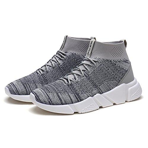 Dröm Par Mens 170844m Lätt Andas Mode Sneakers Sport Promenadskor 170.845 Grå