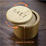 Totally Bamboo Salt Box, Bamboo Storage Box with