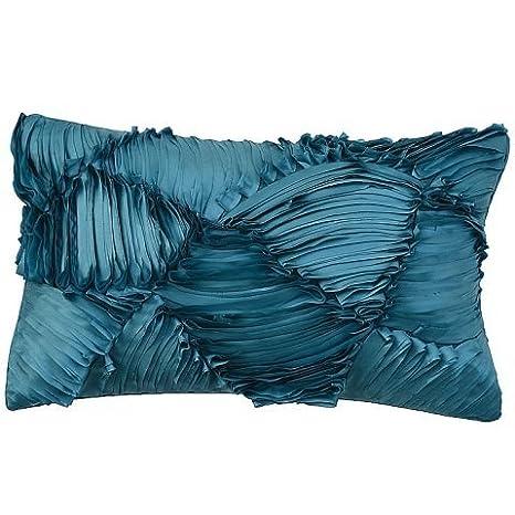 Clara vidal - Cojín shanta(30x50 cm), color azul