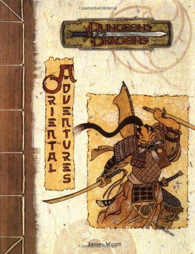 Oriental Adventures (Dungeons & Dragons Supplement) - Oriental Graphics
