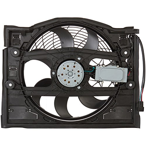 Spectra Premium CF19020 Air Conditioning Condenser Fan Assembly 323i Condenser Cooling Fan