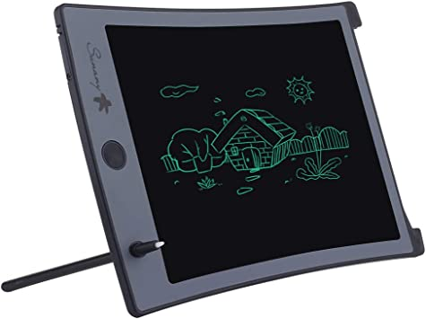Color : BLACK , Size : 8.5 inches LCD Writing Tablet 8.5 Inches Childrens LCD Tablet Graffiti Intelligent Electronic Blackboard Writing Board for Friends Birthday Home Office Speech Difficulti