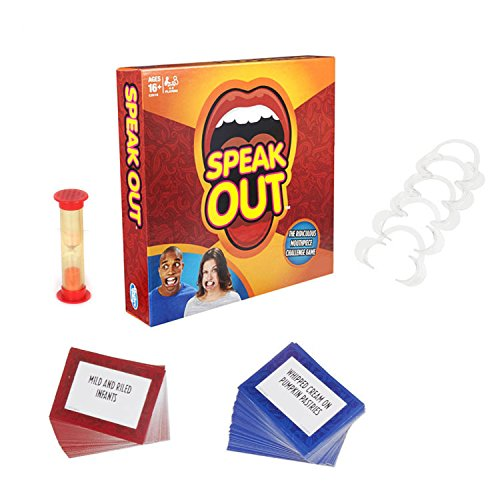Speak out game,High Quality Explosive Braces Sets of Toys for Family Party & Festival