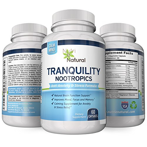 Natural Tranquility Brain Booster