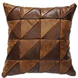 Wooded River Stone Mill Square Pillow