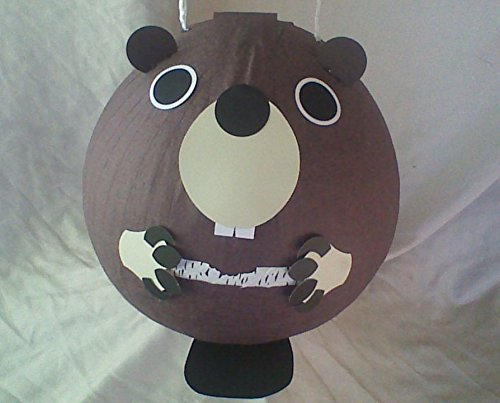 Beaver Pinata With Paper Birch]()
