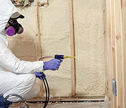 TOUCH n Seal U2 - 600 - 1,75 PCF Kit de aislamiento de espuma de célula cerrada de poliuretano Spray estándar 600bf con * * Bonus * Protective Gear: ...