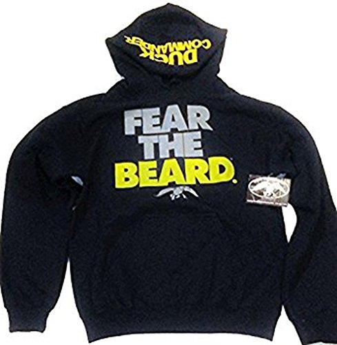 Fear The Beard Duck Dynasty Hoodie, Medium (Fear The Beard Duck Commander)