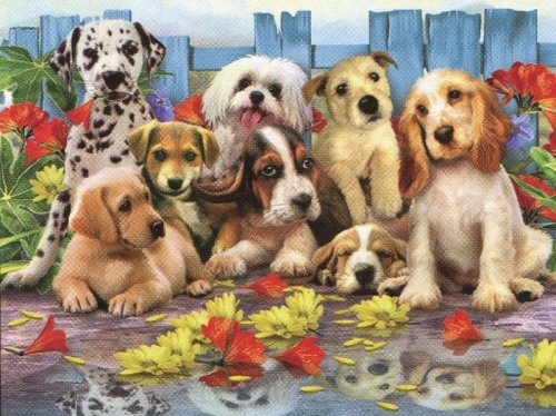 Ravensburger Posing Pups - 200 Piece Puzzle
