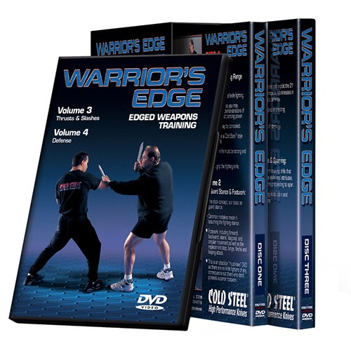 Cold Steel VDWEP Training DVD, Warrior's Edge Set - Edge Spear