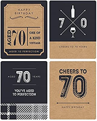Includes 8.5 x 11 Back-in-1949 Sign Rose Gold 70th Birthday Party Supplies Decorations Anniversary Centerpiece Gifts for Women Turning 70 Years Old Unframed Rose Gold