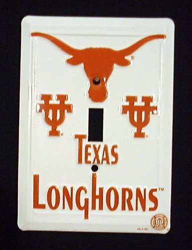(Texas Longhorns Light Switch Cover)