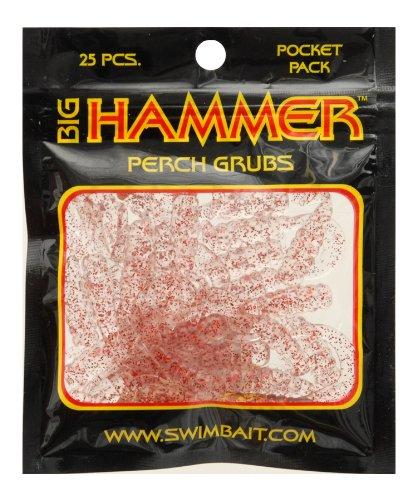 UPC 727562101081 - Big Hammer Perch Grub Bait, Clear Red, 1-3/4-Inch