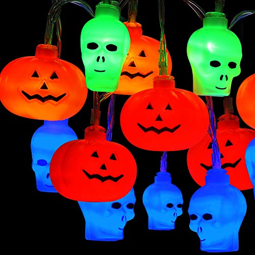 Outdoor Pumpkin String Lights in US - 4