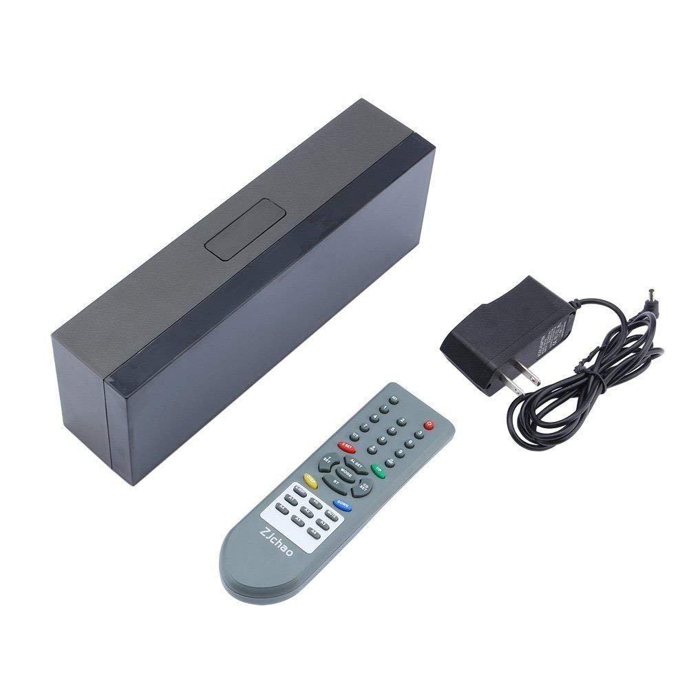 Yosoo Alarma Big Time Relojes LED Digital / Cuenta atrás / adelante Reloj con el controlador remoto (azul)