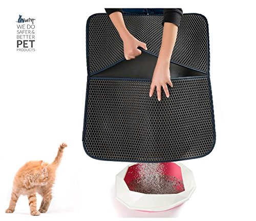 WePet Double Layer Honeycomb Cat Litter Mat X Large 30