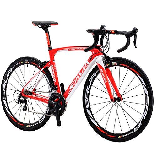 Jual Carbon Road Bike, SAVA HERD6.0 T800 Carbon Fiber 700C Road ...