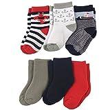 Luvable Friends Unisex Baby Basic Socks, Blue