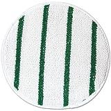 Low Profile Carpet Bonnet 17 In Whi W/ Gre Strip 5