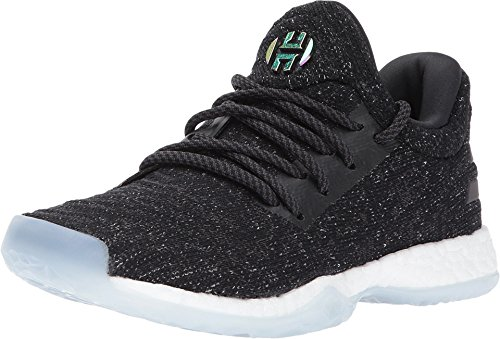 Price comparison product image adidas Kids Unisex Harden Vol 1 LS Primeknit (Big Kid) Core Black/Utility Black/Running White 7 M US Big Kid