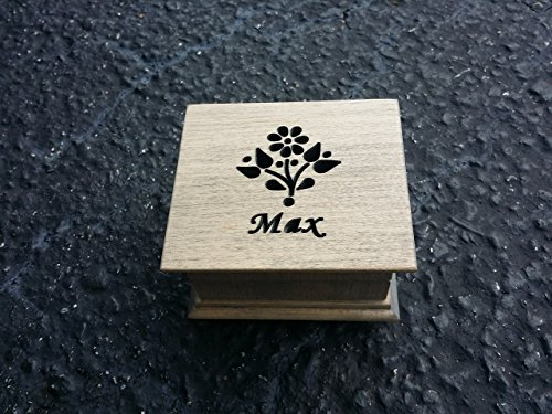 Music box, custom made music box, handmade music box, you are my sunshine, gift for daughter, flower girl gift, personalized flower gift, personalized music box, simplycoolgifts
