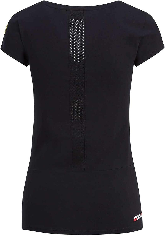Branded Sports Merchandising B.V Scuderia Ferrari F1 Womens Race T-Shirt Black