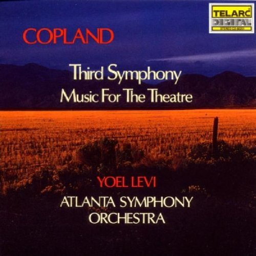 Price comparison product image Copland: Third Symphony & Music for Theatre