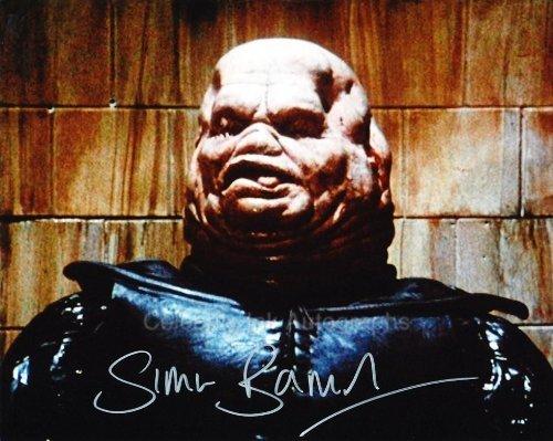 SIMON BAMFORD as Butterball Cenobite - Hellraiser Genuine Autograph]()