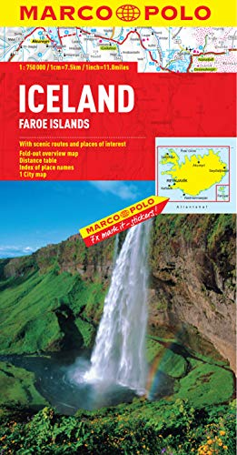 Iceland Marco Polo Map (Marco Polo Maps)...