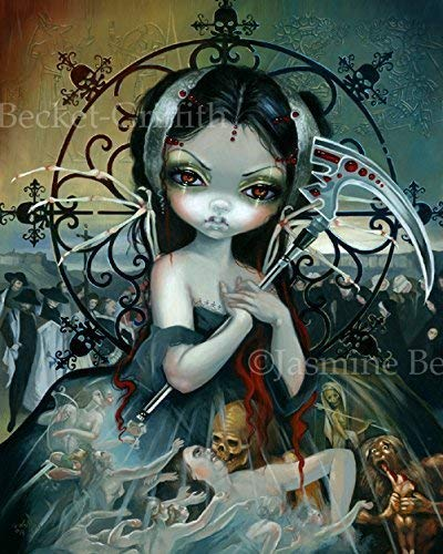 """Unseelie Court: Death"" SIGNED Glossy Photo Art Prints by Jasmine Becket-Griffith"