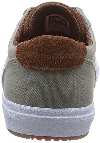 Lakai Guymar - Zapatillas de Skateboarding de cuero Hombre, gris - Gris (Aluminium Suede), 47