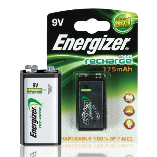 Energizer Rechargeable 9V Battery S624 / 633003