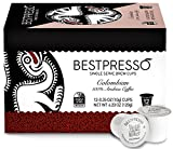 Cheap Bestpresso Coffee, Colombian Single Serve K-Cup, 72 Count (Compatible with 2.0 Keurig Brewers) 6 packs of 12 cups