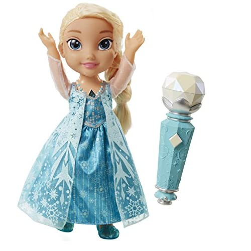 Disney Frozen – Sing A Long Elsa – Poupée 33 cm Chante avec Elsa Version Anglaise