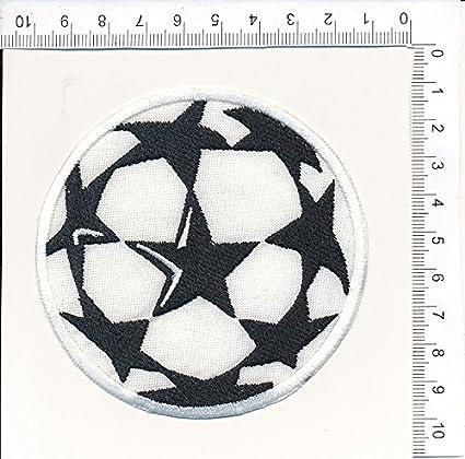 Écusson Champions League Numéro 1 Replica cm 5 X 7,5 Patch Brodé Broderie