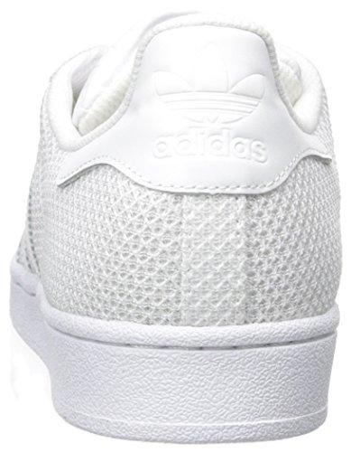 adidas Sneakers Superstar Uomo Bianco da Bianco Bianco SazfgZS