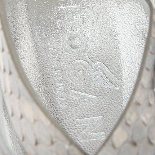 13899 sandali donna HOGAN valencia fasce scarpe shoes women grigio/argento