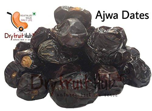 Dry Fruit Hub Ajwa Dates 250 Gram (0.55 lbs) by Dry Fruit Hub