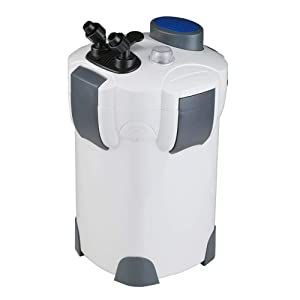 Polar Aurora Free Media 4-Stage External Canister Filter