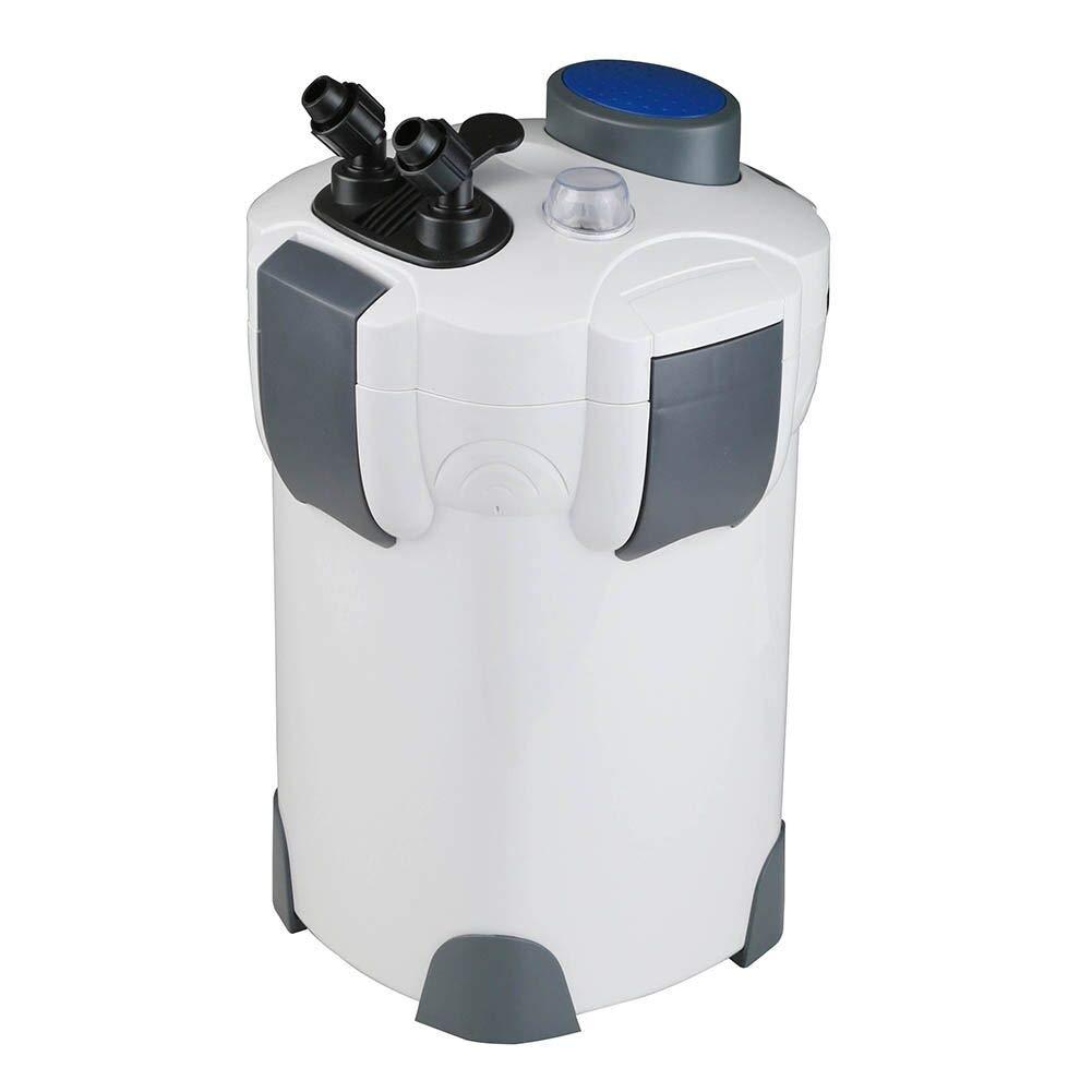 Polar Aurora 265GPH / 266GPH / 370GPH / 525GPH External Aquarium Filter with Builtin Pump Kit Canister (266/370 / 525 GPH with Light)