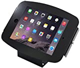 Maclocks 101B224SENB iPad Space Enclosure Kiosk With 45-Degree Mount for iPad / iPad Pro 9.7(Black)