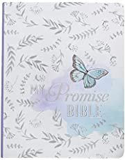 Journaling Bible in Silky Butterfly KJV My Promise Bible: Journaling Bible, Highlighted Promise Verses, Stickers with Bible Book Names