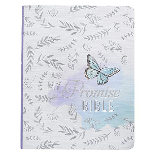 Holy Bible: Silky Butterfly My Promise Bible - King James Version Journaling Bible