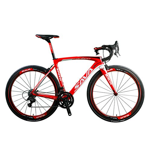 SAVA HERD9.0 700C Carbon Fiber Road Bike Cycling...