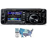 Bundle - 2 Items: Includes Yaesu FT-991A HF/VHF/UHF All-Mode Transceiver and Ham Guides TM Quick Reference Card!!